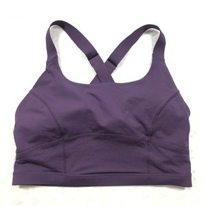 Lululemon pure practice sports bra sz10
